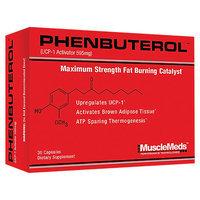 MuscleMeds - Phenbuterol Maximum Strength Fat Burning Catalyst - 30 Capsules