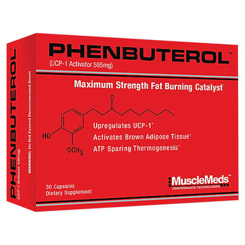 MuscleMeds - Phenbuterol Maximum Strength Fat Burning Catalyst - 30 Capsules