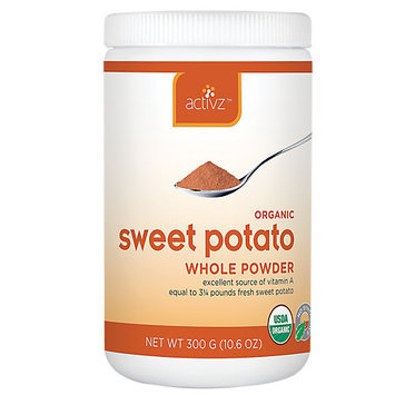 Activz - Organic Sweet Potato Whole Powder - 10.6 oz.