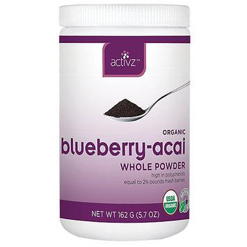 Activz - Organic Blueberry-Acai Whole Powder - 5.7 oz.