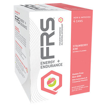 FRS Healthy Energy - All Natural Energy Endurance Drink Strawberry Kiwi - 4 Pack