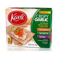 Kavli Crispbread, Garlic, 5.29-Ounce Boxes (Pack of 12)