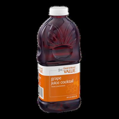 Guaranteed Value Grape Juice Cocktail