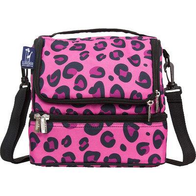 Wildkin Pink Leopard Double Decker Lunch Bag