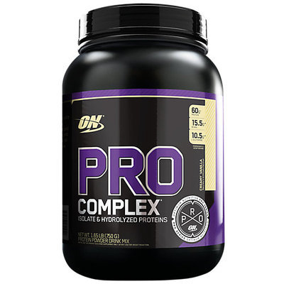ABB Records Optimum Nutrition PRO Complex Creamy Vanilla 10 Servings