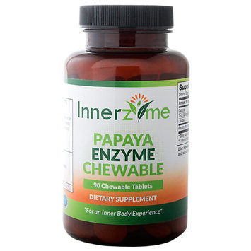 Innerzyme Papaya Enzyme - 90 Chewable Tablets