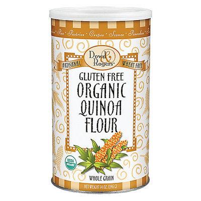 Dowd & Rogers Gluten Free Organic Quinoa Flour Dowd And Rogers 14 oz Powder