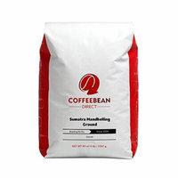 Coffee Bean Direct Sumatra Mandheling Ground Coffee, 5-Pound Bag