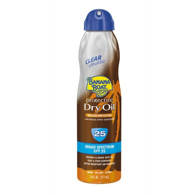 Banana Boat UltraMist Protective Tanning Dry Oil With SPF 25