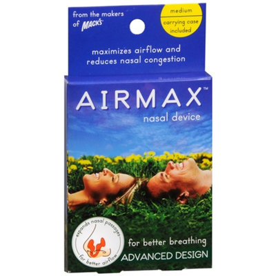 Mack's Airmax Nasal Device for Better Breathing, Medium, 1 ea