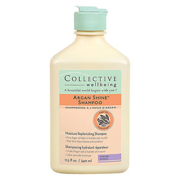 Collective Wellbeing Argan Shine Lavender Shampoo, 11.5oz