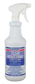 ITW DYMON 38532 Glass Cleaner, 32 oz, Light Blue, PK12