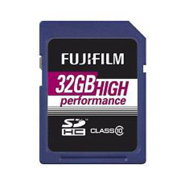 Fujifilm 32GB Class 10 UHS-1 microSDHC Memory Card