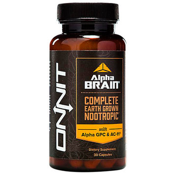 Onnit Alpha Brain Complete Balanced Nootropic - 30 Capsules