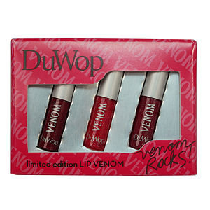 DuWop Cosmetics Venom Rocks! Limited Edition Lip Venom Set