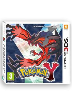 Pokemon Y - 3DS Game.