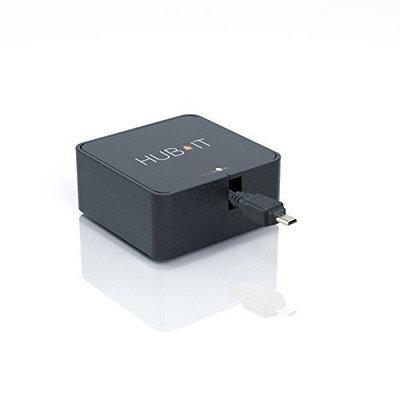 HUB IT Retractable Cartridge - Digital Cameras (Black)