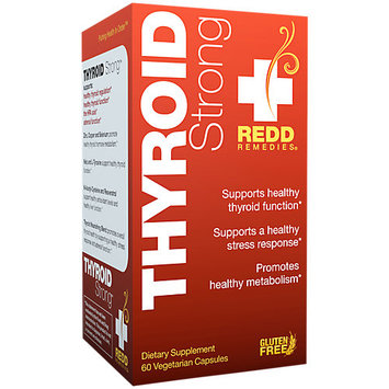 Redd Remedies Thyroid Strong 60 Vegetarian Capsules