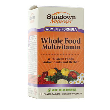 Sundown Naturals Women's Whole Food Formula Multivitamin
