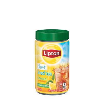 Lipton Decaffeinated Diet Lemon Iced Tea