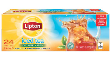 Lipton®  Decaf Iced Black Tea Tea Bags