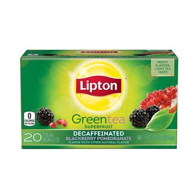 Lipton Decaffeinated Blackberry Pomegranate Green Tea