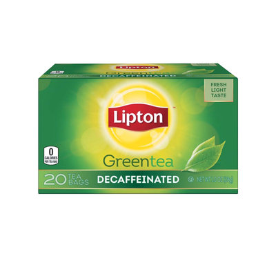 Lipton® Decaffeinated Green Tea