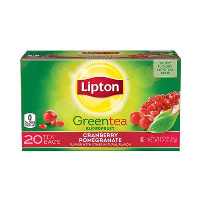 Lipton® Cranberry Pomegranate Green Tea