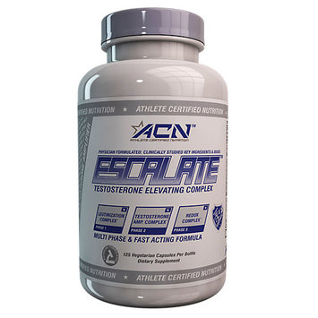 Athlete Certified Nutrition Escalate - 125 Vegetarian Capsules