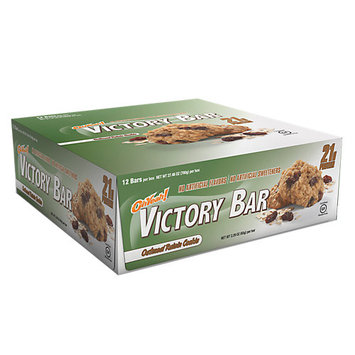 ISS Oh Yeah! Victory Oatmeal Raisin - 12 Bars - 2.29 oz (65 g) per Bar