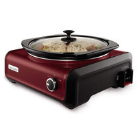Crock-Pot 5-qt. Connectable Entertaining System (Red)