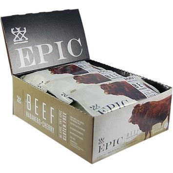 Epic Bar Beef Habanero Cherry Case of 12 Bars
