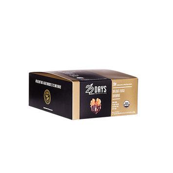 22 Days Nutrition - Organic Protein Bar Walnut Fudge Brownie - 12 Bars