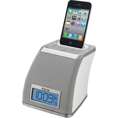 iHome Iphone Ipod Space Saver Alarm Clock