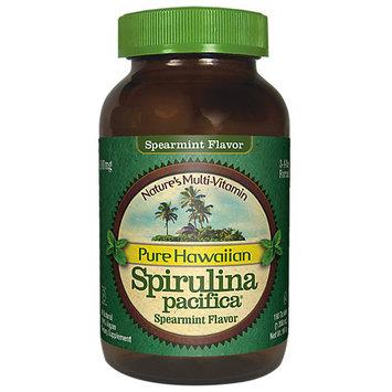 Nutrex Hawaii Spirulina Pacifica Spearmint 1000 mg - 180 Tablets - Vegan
