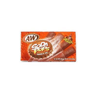 A W Root Beer A & W Root Beer Soda Pops Freeze & Eat Popsicles