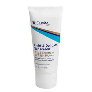 Triderma Md TriDerma Light & Delicate Sunscreen Broad Spectrum SPF 15 PA+++ (1.7 oz)
