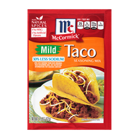 McCormick® 30 % Less Sodium Mild Taco Seasoning Mix