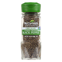 McCormick Gourmet™ Organic Black Pepper, Coarse Ground