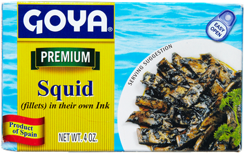 Goya® Squid in their Own Ink Fillets