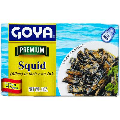 Goya® Squid in their Own Ink Fillets
