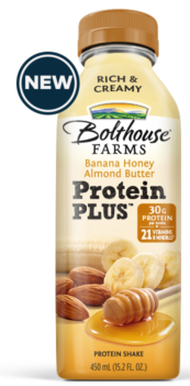 Bolthouse Farms Protein Plus Banana Honey Almond Butter