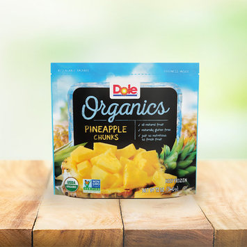 Dole Organics Pineapple Chunks