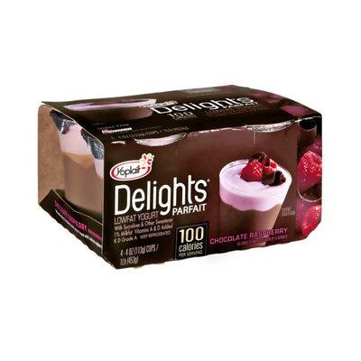 Yoplait® Delights Parfait Chocolate Raspberry Lowfat Yogurt
