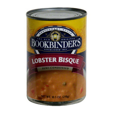 Old Original Bookbinder's Lobster Bisque Soup