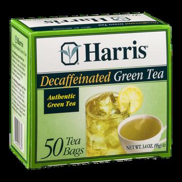 Harris Decaffeinated Green Tea Bags - 50 CT