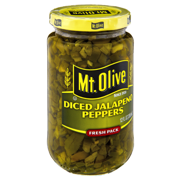 Mt. Olive Diced Jalapeno Peppers
