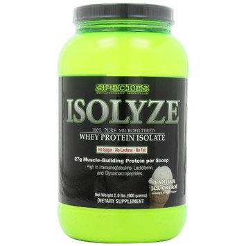 Species Nutrition Isolyze, Vanilla Ice Cream, 2.05-pound Tub