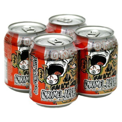 Jones Soda Co Jones Soda Halloween Caramel Apple 8 oz 4 pk