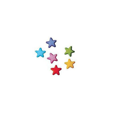 Dec Ons Lucks 36055 Dec-Ons Rainbow Star Charms - 702 / BX